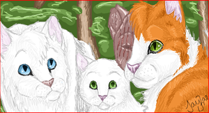Happy Family -iScribble- by TheMoonfall