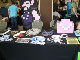 Camden Comic Con Table by ChozoBoy
