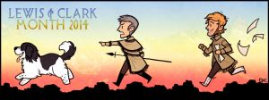 Lewis + Clark Month 2014 by Inonibird
