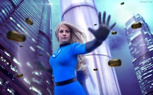 Sue Storm Richards (Invisible Woman) - Fantastic 4 by Paper-Cube