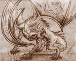Storm Dragon_The Original by CorruptTempest