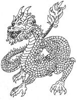 Dragon Tattoo by MidnightFlame