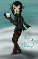 T'ilah:ChristmasDoodle by Redichu