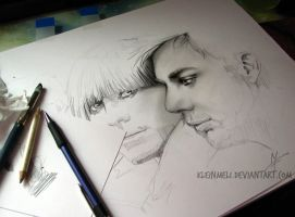 30Seconds to Mars - WIP1 by kleinmeli