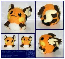 Plush - Gizamimi Raichu by RadiantGlyph