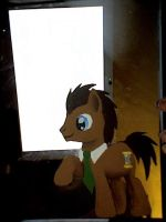 dr Whooves mirror by ladyjessien