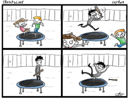 Comic: Trampoline by The-Greys