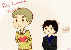 bbc Sherlock: Gift for Pajamas by wantutre