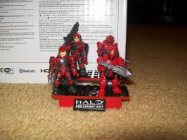 Halo Red Combat Team by blackout17