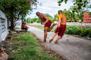 Soccer in Burma by little-spacey