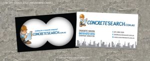 Concrete Search Business Card by pentatonic-ripper
