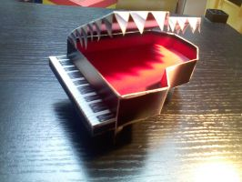Mad Piano Papercraft by gardevoir7