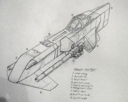 Calanese Strike Fighter by aalenfae