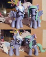 Flitter and Cloudchaser - custom by CelestPapermoon