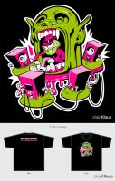 Kill the vampires in your life: Family Hour T by plaidklaus