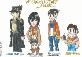 Characters' Doodle of The Day - 09/09/2014 by FelixToonimeFanX360