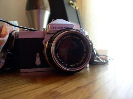 my first real camera by pushersshove