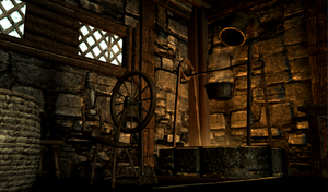 Project Skyrim HANB: Laundry Room G by AudreyDLW