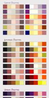 Seasons color PALETTES by SirWendigo