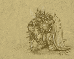 Lich King Bowser 1280x1024 by Verrilo