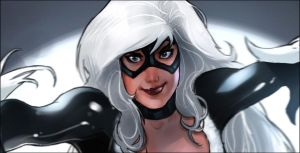Black Cat detail by mullerpereira