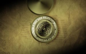 The Alethiometer Wallpaper by Hazreth