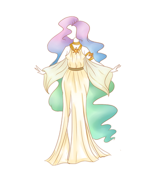 Celestia Dress Design by CitrusSkittles