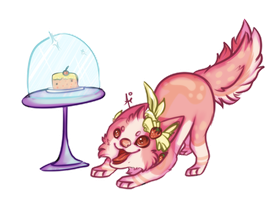 Me wuvsies some cake! by aiMikash