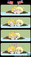 USUK - Kisu! Kisu! by LonelyStrawberry