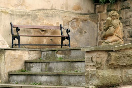A Bench in Whitby by snowcrashed