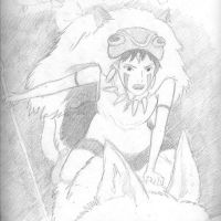 Princess Mononoke by nightwing6497
