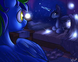 Commission - Luna's Invite by atryl