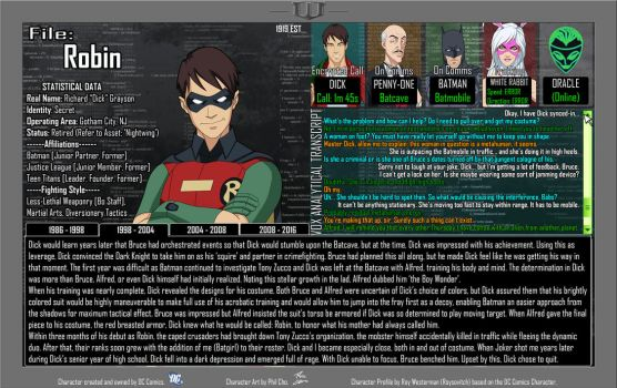 Oracle Files - Dick Grayson 1998-2004 by Roysovitch