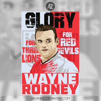 Wayne Rooney Poster by ArdannS2