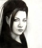 Amy Lee in black 2 by onpumi