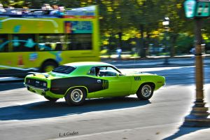 Plymouth Barracuda 440 by LGzozole