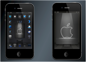 Hollow screens 4 Steve Jobs by bostonguy3737