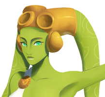 Goddess Hera close up by Raikoh-illust