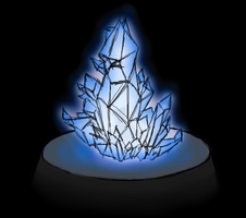 Blue Crystal Thingy by Jakerei