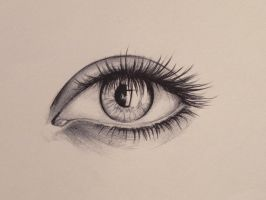 ballpoint eye by hieronymus83