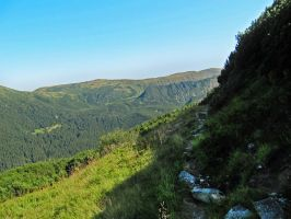 Carpathian Mountains by Laoru