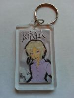 Keychain: Joshua [The World Ends With You] by XWorld-DOMInationX