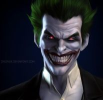 Joker Arkham Origins by DrLinuX