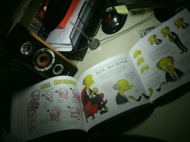 Simpsons Handbook, Mr.Burns by Matsuri1128