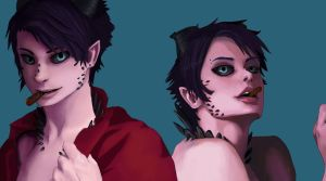 Dion y Dion by pandaway