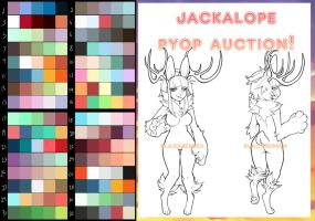 PYOP Jackalope Auction~! (CLOSED) by Blackraven-Adopts