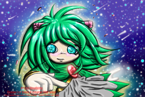 Cosmo The Seedrian :My Style: by Lavenkitty