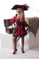 Jessica A Pirate 1a by jagged-eye