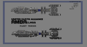 Amba-class Fleet Tender by fongsaunder