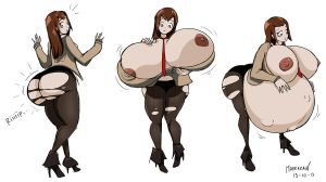CM - Makise Kurisu Progression by Marrazan